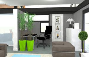 Plan vue 3d architecte 8